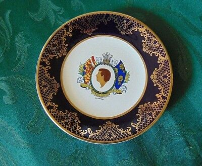 Prince Charles 1969 Investiture Commemorative Plate