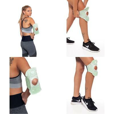 Cold Hot Therapy Pad Reusable Gel Ice Pack Pain Relief Back Compress Bead Wrap