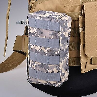 ACU Camo Molle Tactical Utility Sundries Medic Tool Pouch Pack Waist Outdoor Bag