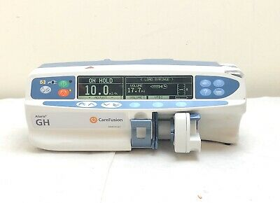 Alaris Carefusion Gh Syringe Driver Infusion Pump *excellent Condition*