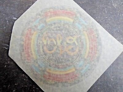 70s ELO Electric Light Orchestra Vintage Iron On, original nos transfer 712676
