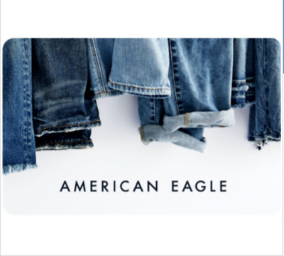 American Eagle® Gift Card $25, $50, or $100 - Email Delivery