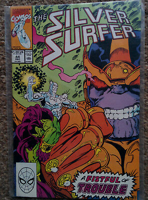 Silver Surfer #44 - A Fistful Of Trouble  (Marvel Comics)