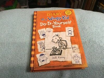 The wimpy kid do it yourself book by jeff kinney 2011 hardcover diary of a wimpy kid do it yourself book by jeff kinney solutioingenieria Choice Image