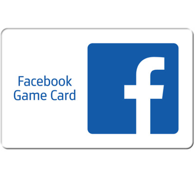 Facebook Game eCard $15 or $25 - Email Delivery