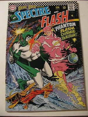 BRAVE AND THE BOLD #72 Silver Age Comic Book 1967 DC SPECTRE FLASH
