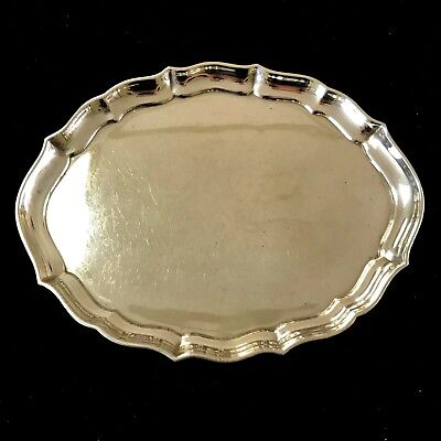 """Gorham  Chippendale Sterling Silver 7 1/2"""" Vanity Tray #41620"""