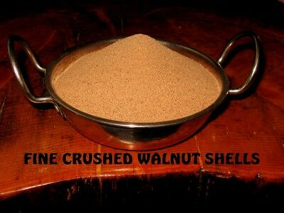 2kg bulk Crushed Ground Fine Walnut Shells Pin Cushions Cosmetic Exfoliant Scrub