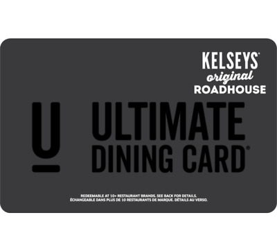 Kelsey's Gift Card $25, $50, or $100 - Email Delivery