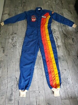 Vintage Drag Racing Rennanzug Overall Nascar Winston Cup Nomex Mopar Indy 500