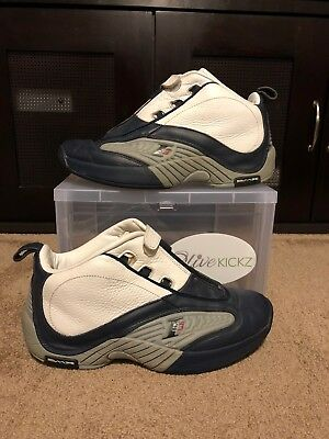 1d77cc25041 REEBOK ANSWER 7 VII Low With OG Box 2003 Allen Iverson Deadstock ...