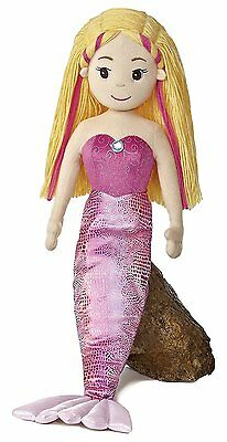 Extra Large 27 inch Sea Sparkles~Mermaid Doll~Melody~Soft Toy~Aurora 33053~New