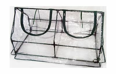 Zenport SH3212A Garden Cold Frame Greenhouse Cloche for Easy Access Protected...