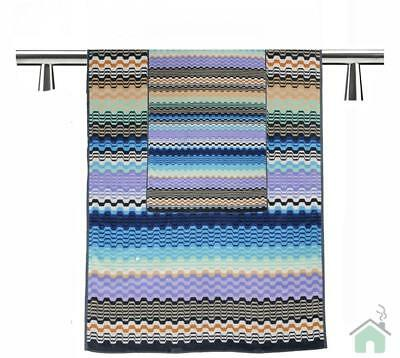 Missoni Home Towels - 1 hand towel + 1 bath towel Lara var.170 - zig-zag pattern