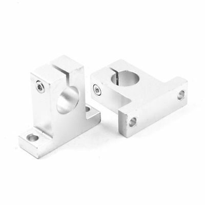 2 x SK16 16mm Linear Rail Shaft Guide Support for XYZ Table CNC