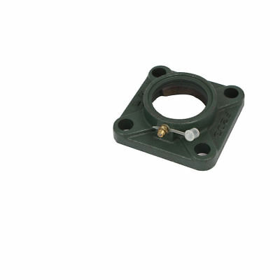 44mm Inner Dia Center Hole 4 Bolt Square Flange Bearing Seat Holder Housing F203