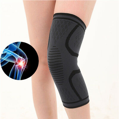 Knee Brace Support Strap Patella Compression Protector Running Sleeve Sports HE