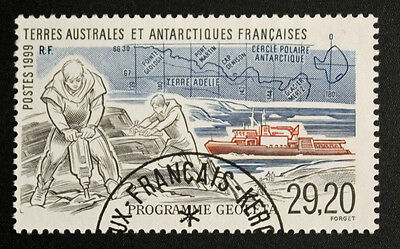 Stamp TAAF Stamp - Yvert and Tellier n°245 Obl (Col9)