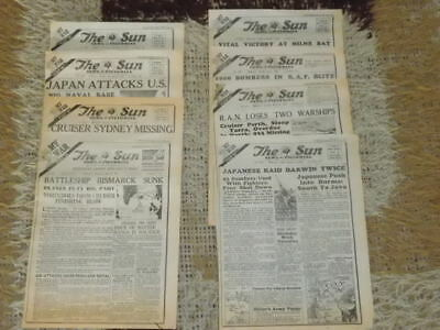 "The Sun Newspaper ""my War ""  8 Parts Issued 1989/ 1990"