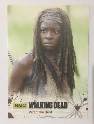#31 Part of The Herd Card The Walking Dead Season 4 Part 2