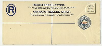 South West Africa KGV 4d registered envelope mint HG #5