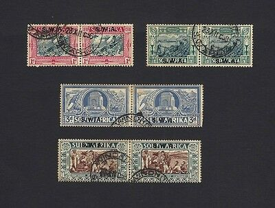 SOUTH WEST AFRICA SWA 1938 Voortrekker Monumment SG 105-8 used