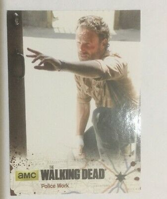 #19 Police Work Card The Walking Dead Season 4 Part 2