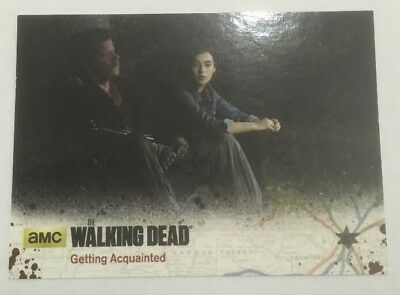 #58 Getting Acquainted Card The Walking Dead Season 4 Part 2