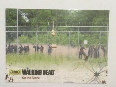 #1 On The Fence Card The Walking Dead Season 4 Part 2