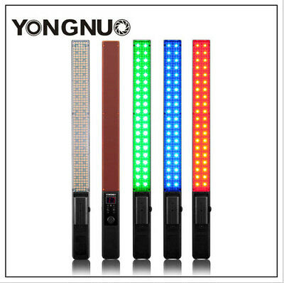 YONGNUO YN360 LED Video Light 3200k 5500k RGB Colorful Handheld Bicolor Video Li