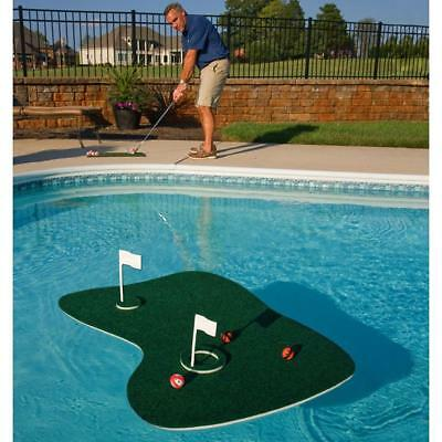 Floating Pool or Backyard Indoor Golf Portable Game Pool Float Raft Swimming Toy