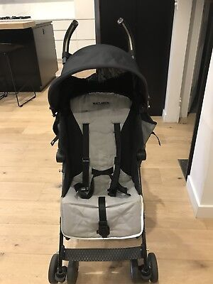 Maclaren Quest Stroller (black/grey)