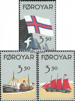 Denmark-Faroe Islands 200-202 (complete issue) unmounted mint / never hinged 199