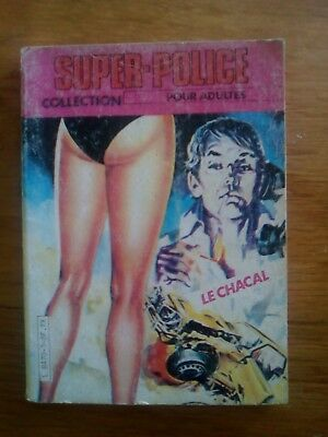 Bd Adulte N°3 Metro Editions - Super Police - Le Chacal