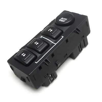 2X(4-Wheel Drive Selector Switch for 03-06 GM Truck Cadillac Escalade SUV 1 B5Y5