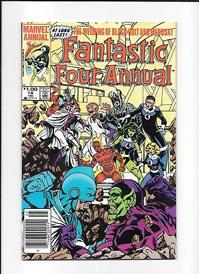Fantastic Four Annual #18 Newsstand (6.5) Marvel