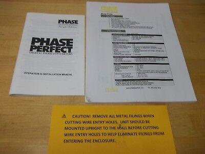 PHASE PERFECT  Digital 3 phase converterSee 3 phase Load