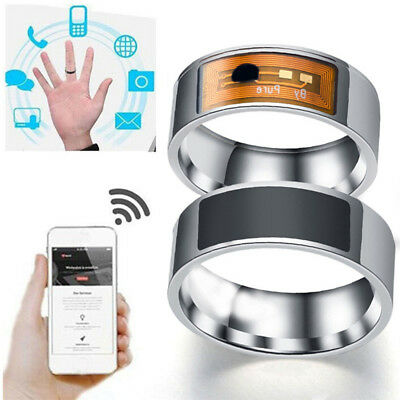 NFC Multifunctional Waterproof Intelligent Ring Smart Wear Finger Digital Ring'