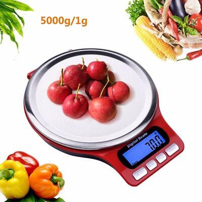 5kg Digital Electronic Scale Kitchen Jewelry Scales Mini Cooking Food Scale A1L7
