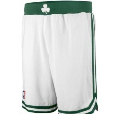 Nuovi Pantaloncini/shorts -Basket Nba-Boston Celtics-Irving-Tatum-Brown-Bianchi