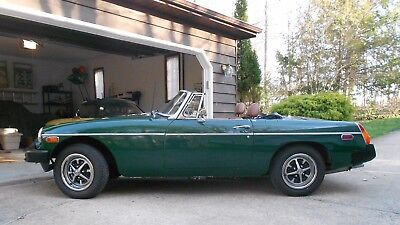 1976 MG MGB  1976 MGB Roadster; very clean and ready for summer fun!