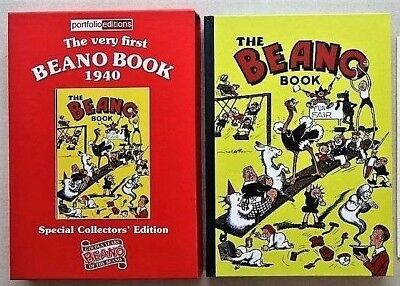 THE BEANO BOOK 1940 Facsimile Reprinr Comic First Annual NMint condition (#679)