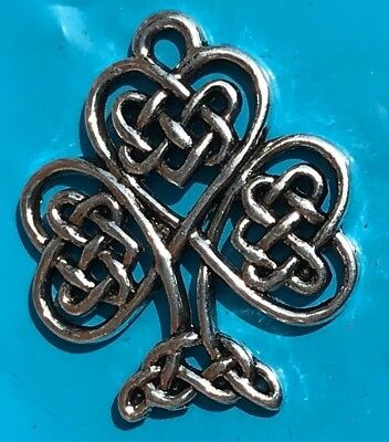 Tibetan Alloy Antique Silver Celtic / Chinese Knot Heart Tree