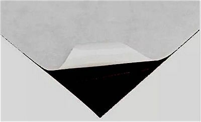 """New Self Adhesive Magnetic Sheet 8.5"""" x 11 Make Your Own Magnets Cut To Any Size"""