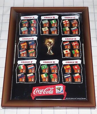 FIFA World Cup 2010 South Africa Coca Cola Pin Set