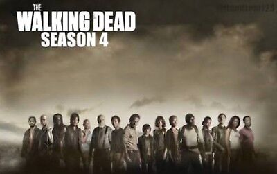 The Walking Dead Season 4 Part 2 Reunion, Poster, Bio, Base Cards Complete Set