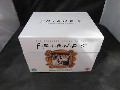 DVD Boxset Friends The Complete Series Season 1-10 2 3 4 5 6 7 8 9 New Damaged