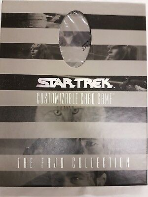 Star Trek Fajo Limited Edition Game Card Set