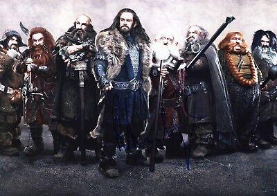 RICHARD ARMITAGE *THE LORD OF THE RINGS - THORIN* 12x8 Signed Autographed Photo