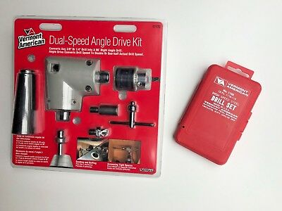 "VERMONT AMERICAN / BOSCH #17172 DUAL SPEED RIGHT ANGLE DRIVE KIT w/ ""BONUS"""